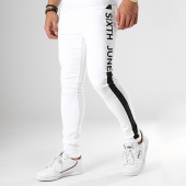 /achat-jeans/sixth-june-jean-skinny-a-bandes-m3619hde-blanc-noir-178494.html