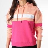 /achat-sweats-capuche/fila-sweat-capuche-femme-ella-687079-rose-beige-178507.html