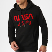 /achat-sweats-capuche/nasa-sweat-capuche-japan-noir-rouge-178553.html