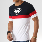 /achat-t-shirts/superman-tee-shirt-tape-tricolore-bleu-marine-blanc-rouge-178555.html