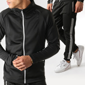 /achat-ensembles-survetement/aarhon-ensemble-jogging-a-bandes-aj240-noir-gris-chine-178682.html
