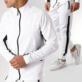 /achat-ensembles-survetement/aarhon-ensemble-jogging-a-bandes-aj242-blanc-noir-178684.html