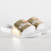 /achat-claquettes-sandales/ellesse-claquettes-femme-filomene-osel91w398-blanc-dore-178582.html