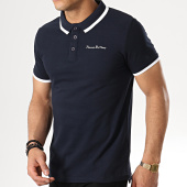/achat-polos-manches-courtes/paname-brothers-polo-manches-courtes-petrol-bleu-marine-blanc-178700.html