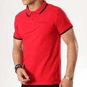/achat-polos-manches-courtes/paname-brothers-polo-manches-courtes-petrol-rouge-178703.html