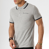 /achat-polos-manches-courtes/paname-brothers-polo-manches-courtes-petrol-gris-chine-178705.html