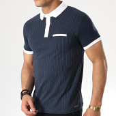 /achat-polos-manches-courtes/paname-brothers-polo-manches-courtes-pass-bleu-marine-blanc-178712.html