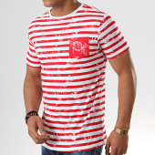 /achat-t-shirts/paname-brothers-tee-shirt-poche-turn-blanc-rouge-floral-178725.html
