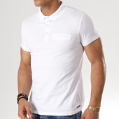 /achat-polos-manches-courtes/paname-brothers-polo-manches-courtes-pastel-blanc-178732.html