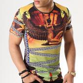 /achat-t-shirts/john-h-tee-shirt-m-13-noir-jaune-178918.html