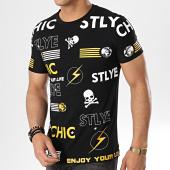 /achat-t-shirts/john-h-tee-shirt-1990-noir-178926.html