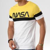 /achat-t-shirts/nasa-tee-shirt-tape-tricolore-noir-blanc-jaune-178913.html