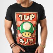 /achat-t-shirts/nintendo-tee-shirt-propaganda-poster-inspired-1-up-mushroom-noir-rouge-178852.html