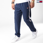 /achat-pantalons-joggings/tommy-sport-short-jogging-avec-bandes-s20s200012-bleu-marine-178863.html