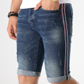/achat-shorts-jean/classic-series-short-jean-slim-a-bandes-2519-bleu-brut-179114.html