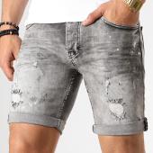 /achat-shorts-jean/black-needle-short-jean-slim-1958-gris-179130.html