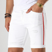 /achat-shorts-jean/classic-series-short-jean-slim-a-bandes-2374-blanc-179134.html