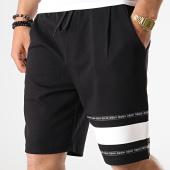 /achat-shorts-jogging/hugo-by-hugo-boss-short-jogging-avec-bandes-dorts-50411559-noir-blanc-178964.html