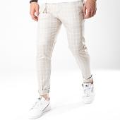 /achat-pantalons-carreaux/ikao-pantalon-carreaux-f558-beige-179099.html
