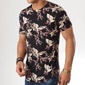 /achat-t-shirts-longs-oversize/uniplay-tee-shirt-oversize-kxt-23-noir-floral-178971.html