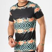/achat-t-shirts/uniplay-tee-shirt-t592-noir-floral-178983.html