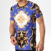 /achat-t-shirts/uniplay-tee-shirt-t605-bleu-roi-renaissance-noir-blanc-179007.html
