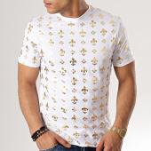 /achat-t-shirts/uniplay-tee-shirt-uy393-blanc-dore-179053.html