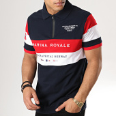 /achat-polos-manches-courtes/geographical-norway-polo-manches-courtes-kartimi-bleu-marine-rouge-blanc-179230.html