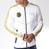 /achat-vestes/ea7-veste-zippee-a-bandes-3gpm37-pjt6z-blanc-dore-179508.html