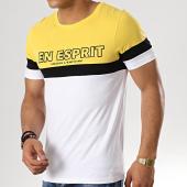 /achat-t-shirts/heuss-lenfoire-tee-shirt-tape-tricolore-noir-blanc-jaune-179430.html