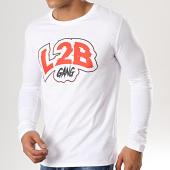 /achat-t-shirts-manches-longues/l2b-gang-tee-shirt-manches-longues-logo-blanc-rouge-179448.html