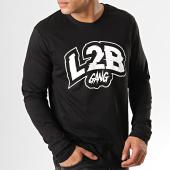 /achat-t-shirts-manches-longues/l2b-gang-tee-shirt-manches-longues-logo-noir-179484.html