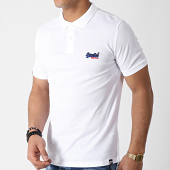/achat-polos-manches-courtes/superdry-polo-manches-courtes-mercerised-lite-city-blanc-179405.html