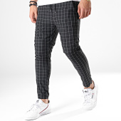 /achat-pantalons-carreaux/classic-series-pantalon-a-carreaux-91412-noir-179664.html