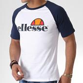 /achat-t-shirts/ellesse-tee-shirt-raglan-1031n-blanc-bleu-marine-179594.html