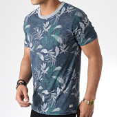 /achat-t-shirts/jack-and-jones-tee-shirt-ron-bleu-marine-chine-floral-179583.html