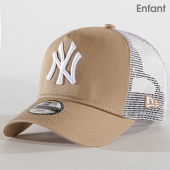 /achat-trucker/new-era-casquette-trucker-enfant-league-essential-940-new-york-yankees-11942059-beige-blanc-179710.html
