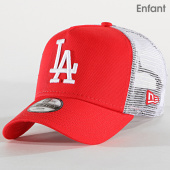/achat-trucker/new-era-casquette-trucker-enfant-league-essential-940-los-angeles-dodgers-11942060-rouge-blanc-179711.html