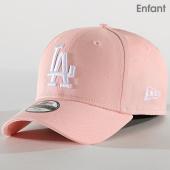 /achat-casquettes-de-baseball/new-era-casquette-enfant-league-essential-los-angeles-dodgers-11942073-rose-179717.html