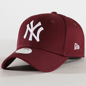 /achat-casquettes-de-baseball/new-era-casquette-femme-league-essential-new-york-yankees-11945515-bordeaux-blanc-179726.html