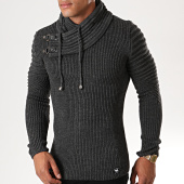 /achat-pulls/paname-brothers-pull-400-gris-anthracite-179686.html
