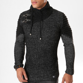 /achat-pulls/paname-brothers-pull-400-noir-chine-179688.html