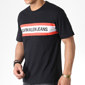 /achat-t-shirts/calvin-klein-tee-shirt-chest-stripe-institutionnal-2592-noir-179868.html