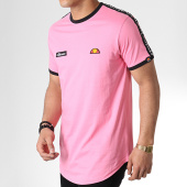 /achat-t-shirts-longs-oversize/ellesse-tee-shirt-oversize-a-bandes-fede-sha05907-rose-179872.html