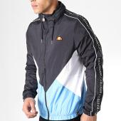 /achat-vestes/ellesse-veste-zippee-a-bandes-lapaccio-shb05892-noir-bleu-clair-179875.html
