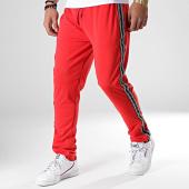 /achat-pantalons-joggings/brave-soul-pantalon-jogging-a-bandes-225-square-rouge-180077.html