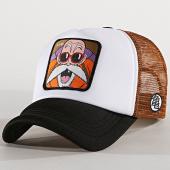 /achat-trucker/dragon-ball-z-casquette-trucker-kame-blanc-marron-noir-180015.html