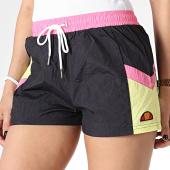 /achat-shorts-jogging/ellesse-short-jogging-femme-kasibu-sgb06873-noir-rose-jaune-179907.html