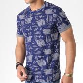 /achat-t-shirts/mtx-tee-shirt-tm0098-bleu-marine-blanc-180023.html
