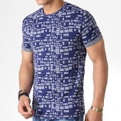 /achat-t-shirts/mtx-tee-shirt-tm0096-bleu-marine-blanc-180026.html